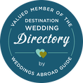 Valued member of the Destination Wedding Directory by Wedding Abroad Guide