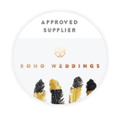 Boho Weddings official supplier