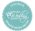Featured on Destination Wedding Directory