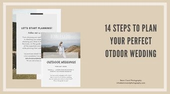 14 steps to plan your perfect outdoor wedding